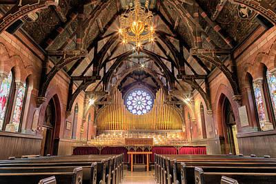 Sage Chapel Organ - Opus 1009 Poster by Stephen Stookey