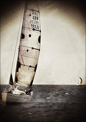Sailing Boat Nautical 5 Poster by Jean Francois Gil
