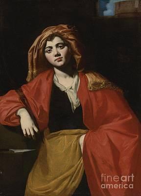 Saint Barbara Poster by Giovan Francesco