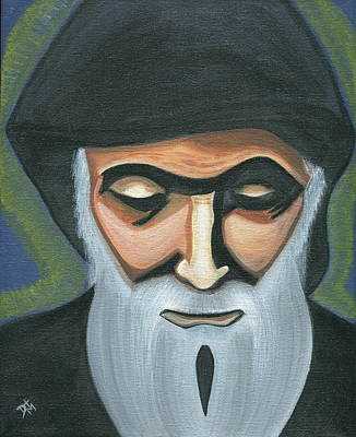 Saint Charbel Makhlouf Poster by Danielle Tayabas