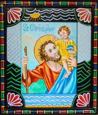 Saint Christopher Poster by Jan Mecklenburg