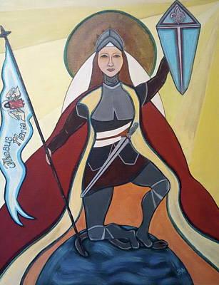 Saint Joan Of Arc Poster by Danielle Tayabas