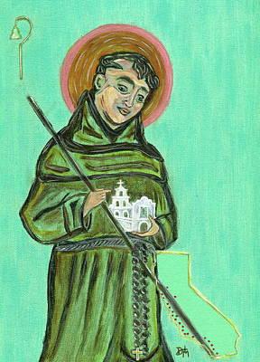 Saint Junipero Serra Poster by Danielle Tayabas