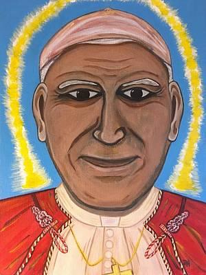Saint Pope John Paul II Poster by Danielle Tayabas