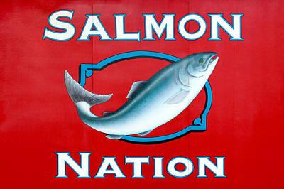 Salmon Nation Poster by Todd Klassy
