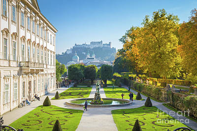 Salzburg In Fall Poster by JR Photography