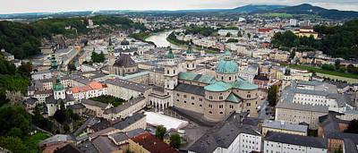 Salzburg Panoramic Poster by Adam Romanowicz