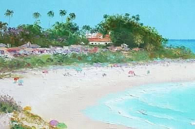 San Clemente Beach California Poster by Jan Matson