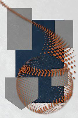 San Diego Padres Art Poster by Joe Hamilton