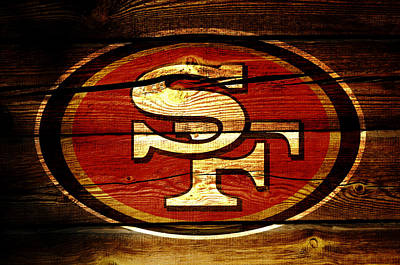 San Francisco 49ers 3b Poster by Brian Reaves