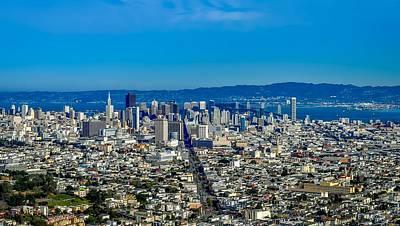 San Francisco California Poster by Leandro Centomo
