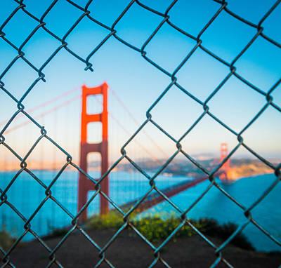 San Francisco Golden Gate Bridge Poster by Cory Dewald