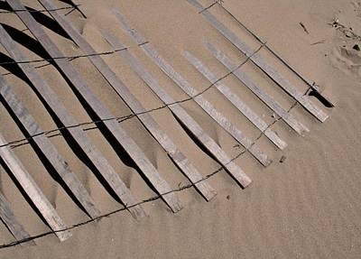 Sand Drift Poster by Odd Jeppesen