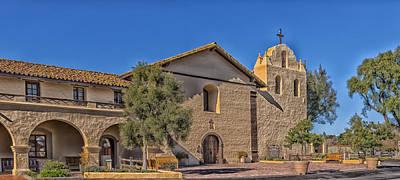 Santa Ines Mission - Santa Ynez California Poster by Mountain Dreams