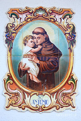 Santo Antonio De Lisboa Poster by Gaspar Avila