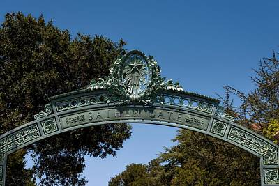Sather Gate Detail Poster by Mountain Dreams