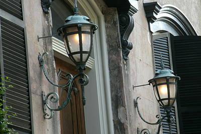 Savannah Lamp Light Poster by Jacqueline Manos