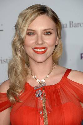 Scarlett Johansson Wearing A Sonia Poster by Everett
