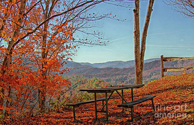 Scenic View Poster by Geraldine DeBoer