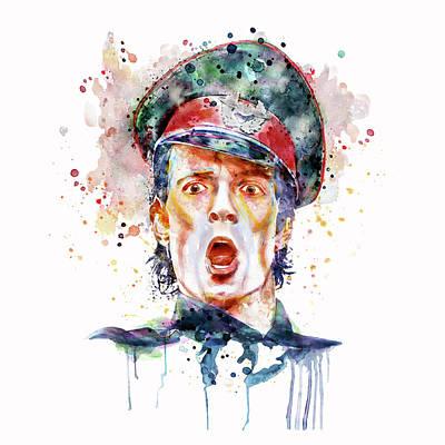 Scott Weiland Poster by Marian Voicu