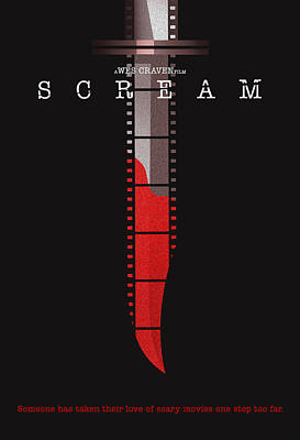 Scream Alternative Poster Poster by Christopher Ables