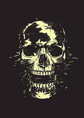 Scream Poster by Balazs Solti