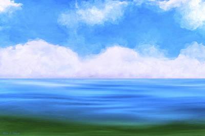 Sea Dreams Poster by Mark E Tisdale