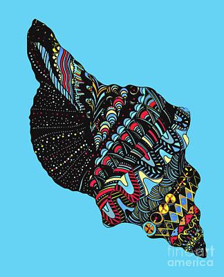 Seashell Poster by Eleni Mac Synodinos