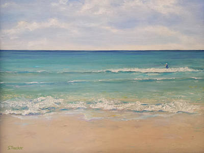 Seaside Florida Poster by Susan Thacker