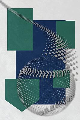 Seattle Mariners Art Poster by Joe Hamilton