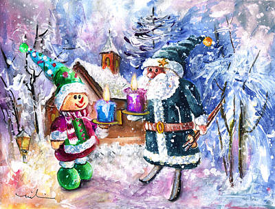 Second Advent For Truffle Mcfurry Poster by Miki De Goodaboom