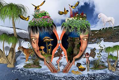 Secret Garden Poster by Solomon Barroa