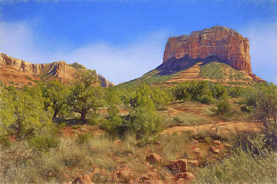 Sedona Landscape - 1 - Arizona Poster by Nikolyn McDonald
