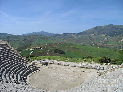 Segesta In Spring  Poster by Clay Cofer