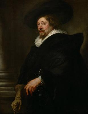 Self-portrait Poster by Peter Paul Rubens