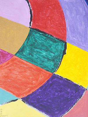 Semi Circles Poster by Stormm Bradshaw