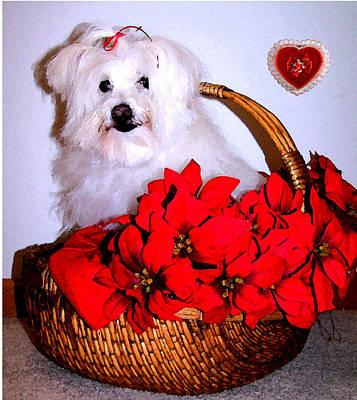 Sending Love Poster by Vijay Sharon Govender
