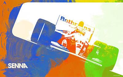 Senna Poster by Naxart Studio