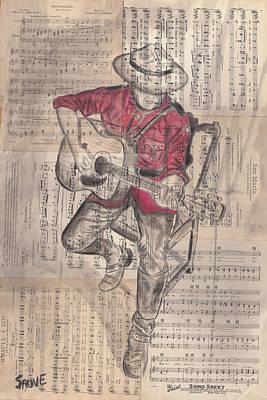 Serenade Poster by Jason  Sauve