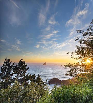Serene Coast Poster by Leland D Howard