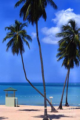 Seven Seas Beach Puerto Rico Poster by Thomas R Fletcher