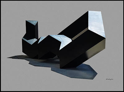 Sf Moma Sculpture Poster by Xueling Zou