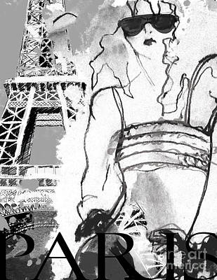 Shades Of Paris Poster by Jodi Pedri