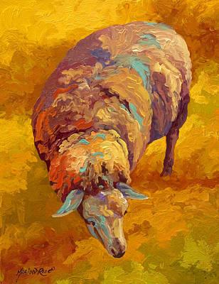 Sheepish Poster by Marion Rose