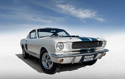 Shelby Mustang Gt350 Poster by Douglas Pittman
