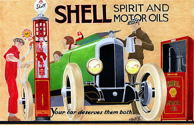 Shell Spirit Poster by Lyle Brown