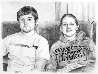 Shippensburg University Poster by Rod Varney