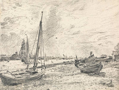 Shipping On The Thames Poster by John Constable