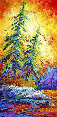 Shoreline Spirits Poster by Marion Rose