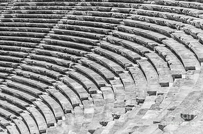 Side Amphitheatre Steps Poster by Antony McAulay